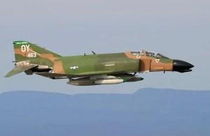 USAF F4 Phantom Jet