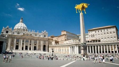 Vatican Obelisk with Golden Calf