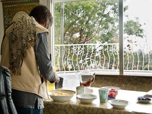 Marcia Making Breakfast
