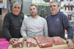 Shoshani and Son, butchers.