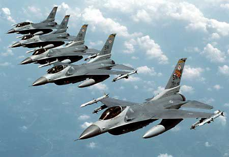 F16s for Egypt? (Photo from Israelmatsav.blogspot.com)