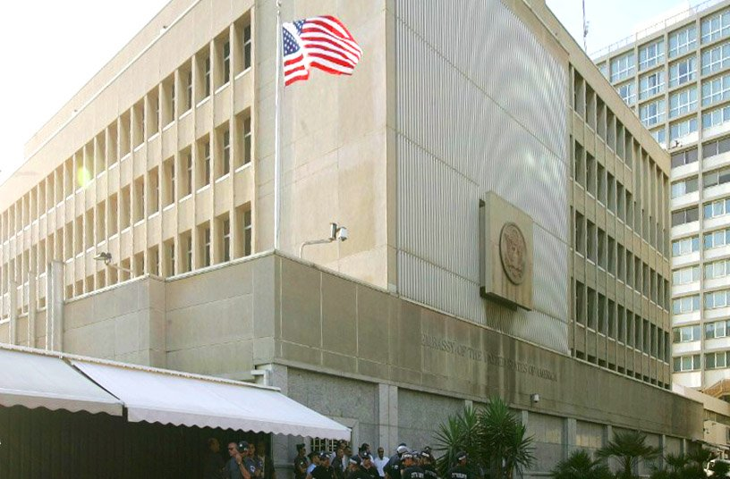 US Embassy, Israel Christopher Furlong, Getty Images