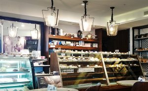 Parash family cafe interior