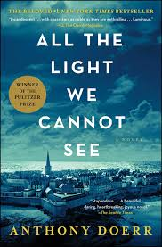 Book cover, All the Light We Cannot See