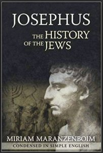 Book Cover; Josephus, The History of the Jews