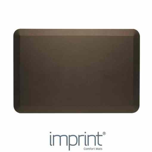 Imprint CumulusPRO rubber anti-fatigue mat brown colour