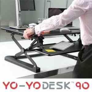 Yo-Yo 90 Sit-Stand Desk adjustment