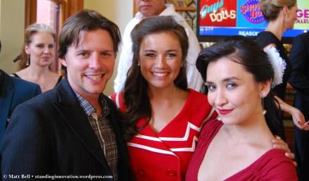 Gareth Keegan, Alinta Chidzey and Christina O'Neill from Show Boat
