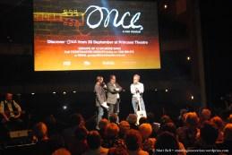Todd McKenney (Host), John Frost (Producer) and Original Composer and Lead Glen Hansard