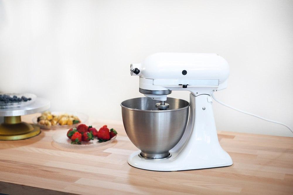 Kitchenaid Classic K45sswh Mixer White Kitchenaid K45ss