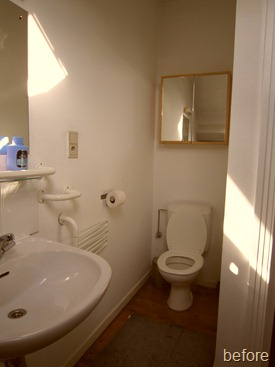 Standing Renovation Yellow Shower Room0005