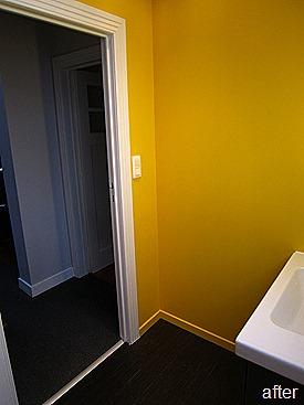 Standing Renovation Yellow Shower Room0018