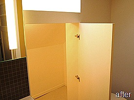 Standing Renovation Yellow Shower Room0022