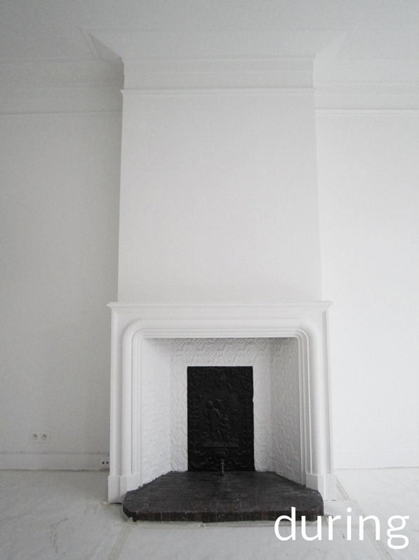 white interior renovation brussels standing renovation44
