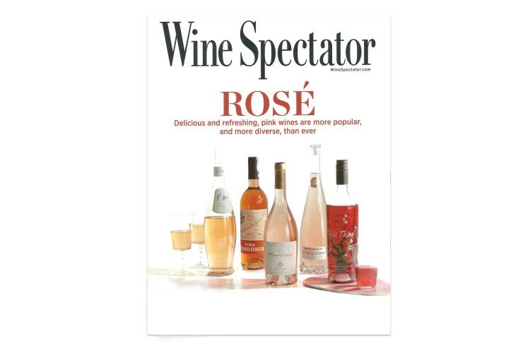 Cover of Wine Spectator issue from June 2018