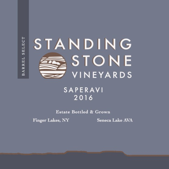 Barrel Select Saperavi 2016 label