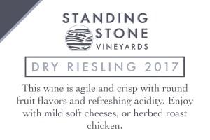 Dry Riesling 2017 Shelf Talker