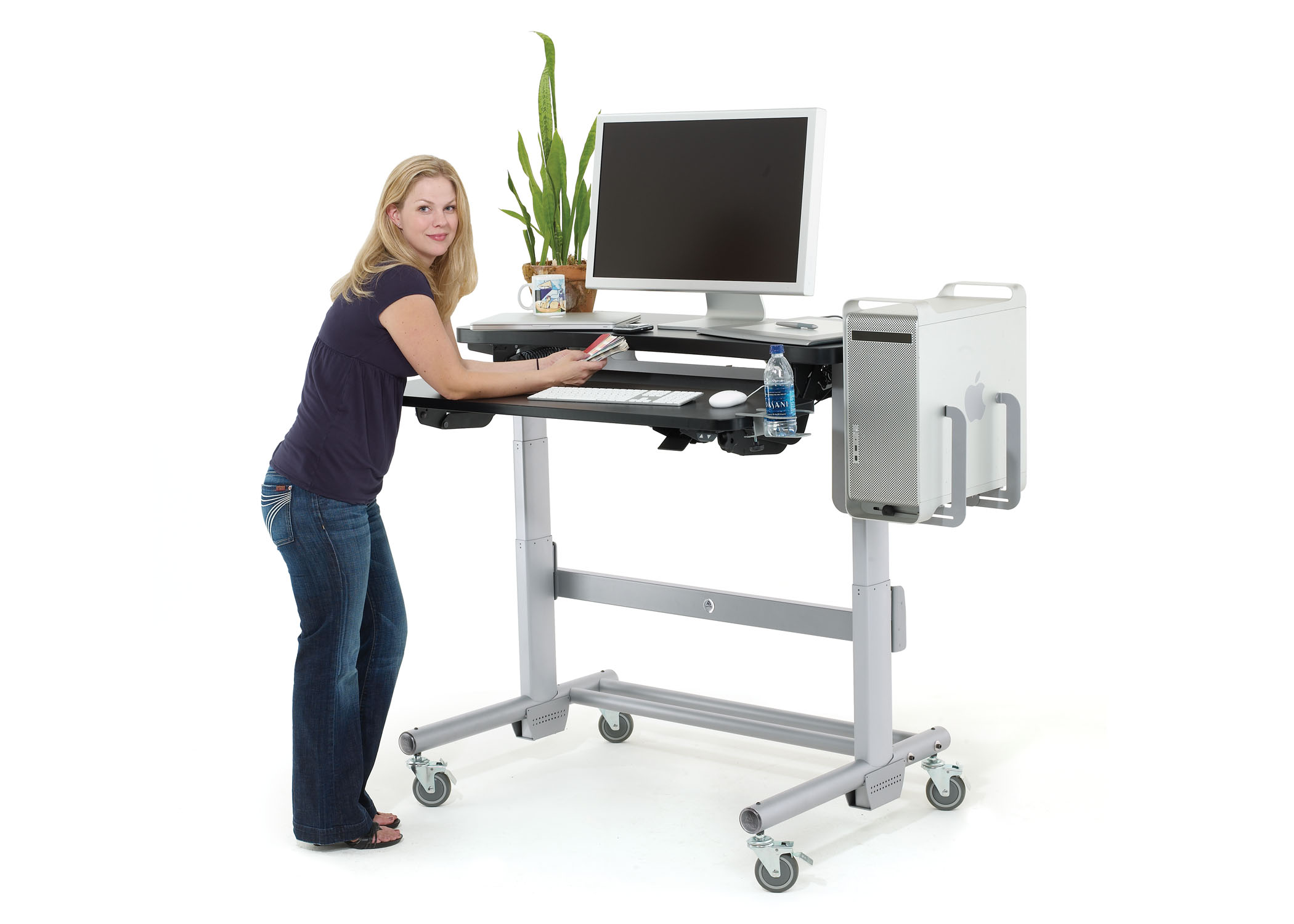 stand up desk chairs salon pedicure standing interior decoration with guarenteed