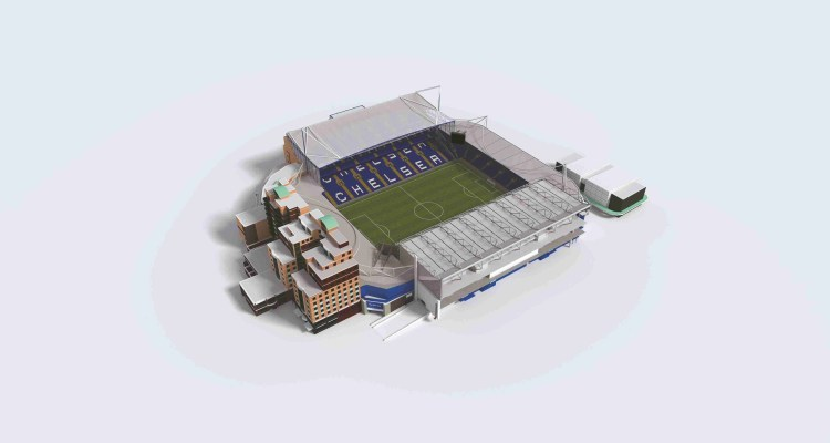 Stamford Bridge Launch Interactive Seating Planner