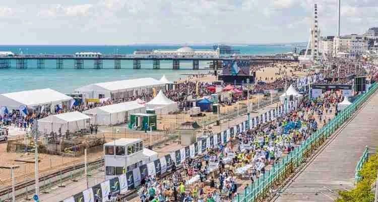 Event Village Introduced For Brighton Marathon Weekend