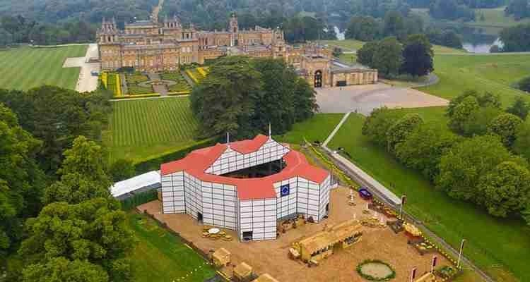 Exclusive look: Shakespeare's Rose Theatre opens at Blenheim Palace