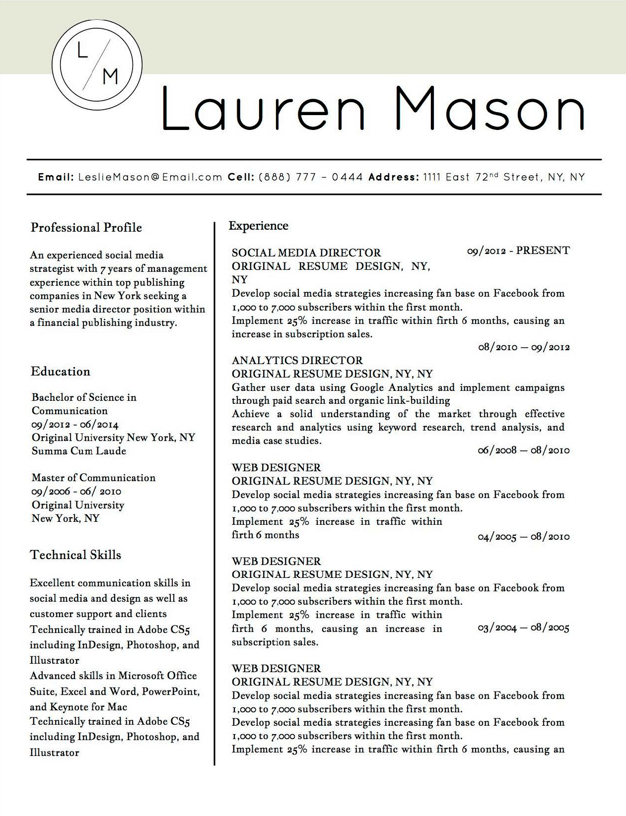 microsoft office resume templates 2014