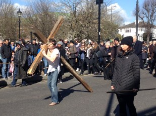 Good Friday: towards the crucifixion