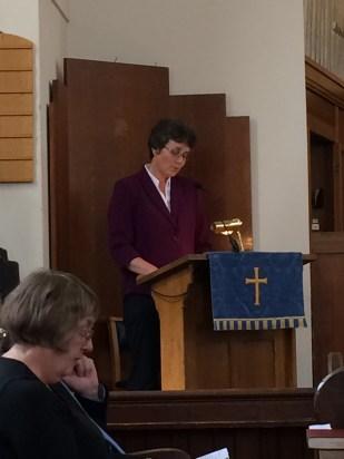 Call to worship: Revd Elizabeth Thomson