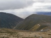 On the Cairn Toul ascent