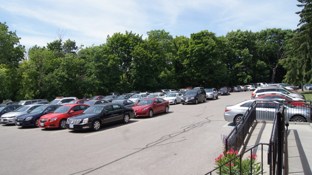 Crowded parking!