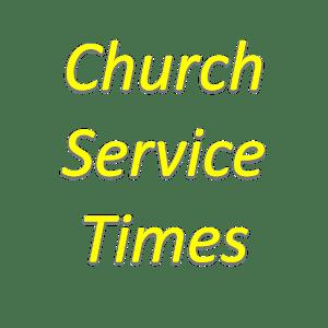 ServiceTimes