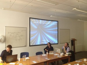 Discussing spatial & transnational history #MappingFlows2014, St Andrews August 2014