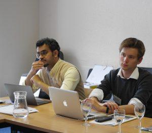 Hatem Alshaikh-Mubarak and Jordan Girardin, workshop Spatial History and Its Sources, September 2016