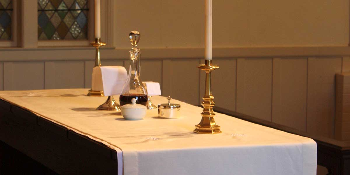Transept Altar Venue Page