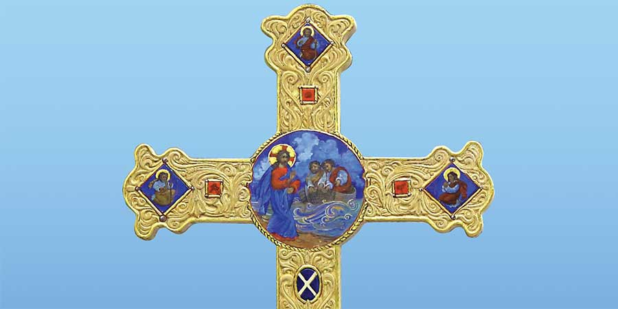 Close up of Cross