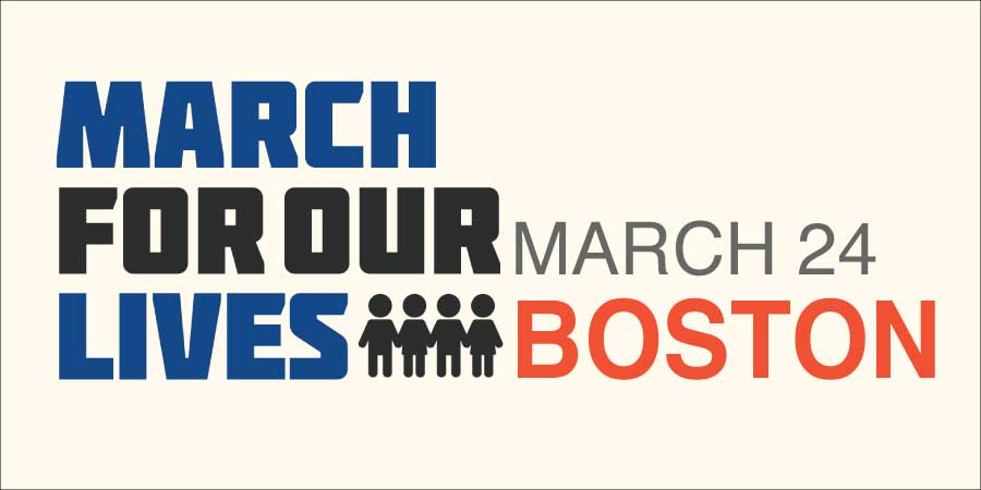 March for Our Lives — Boston 2018