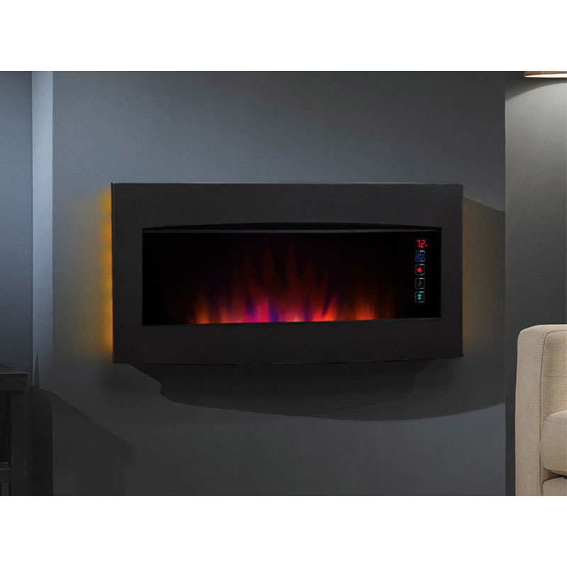 Serendipity Wall Hanging Electric Fireplace 34hf600gra Classic Flame Serendipity 34 In. Wide Wall Hanging