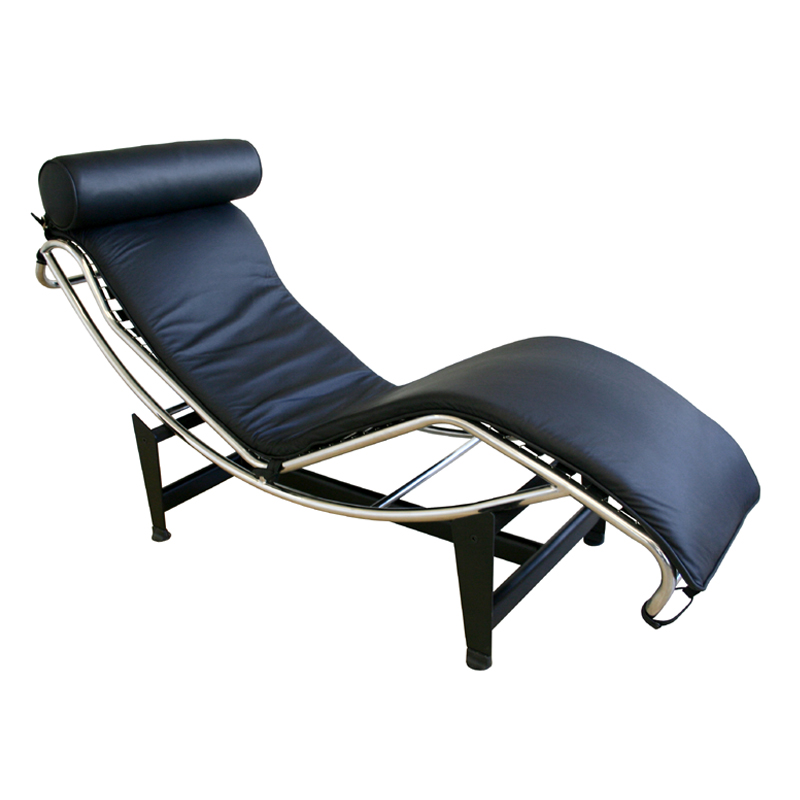Wholesale Interiors Le Corbusier Leather Chaise Lounge