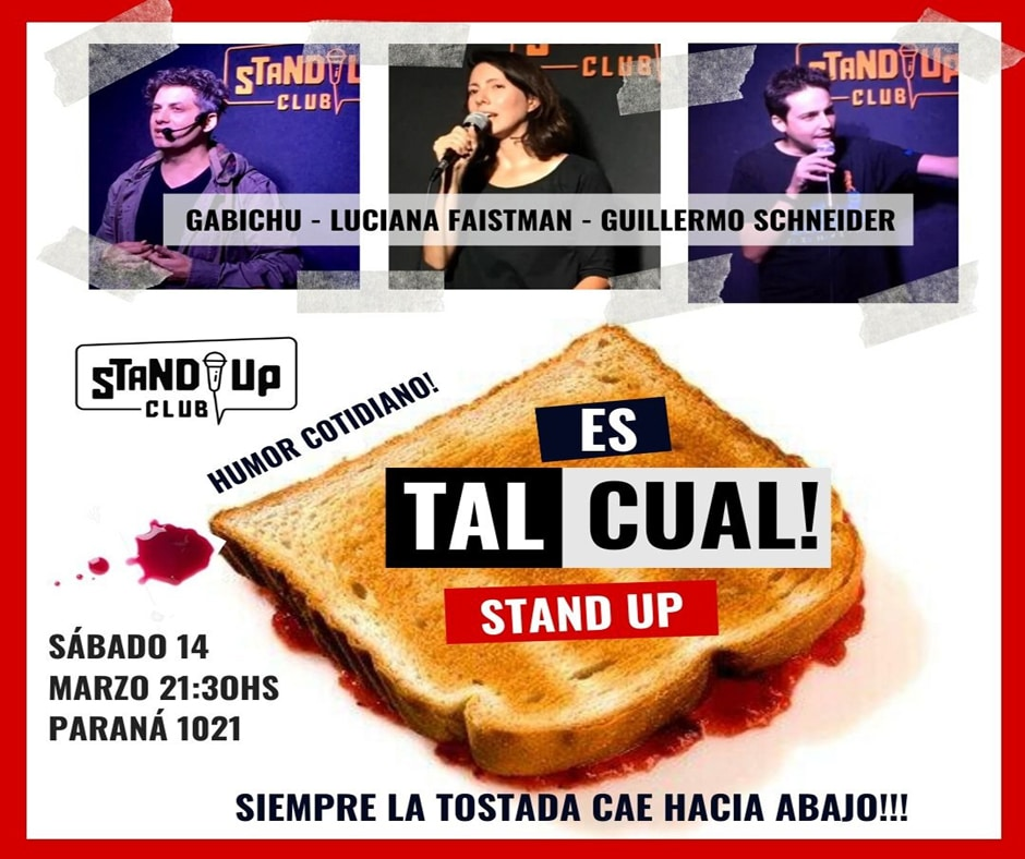 Es Tal Cual Stand Up
