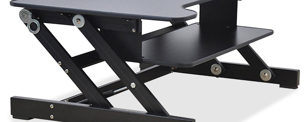 ofm riser hei wid s desk staples tray keyboard ess essentials desktop by is com black with product adjustable blk