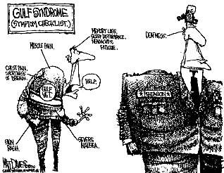 Persian Gulf War Political Cartoons