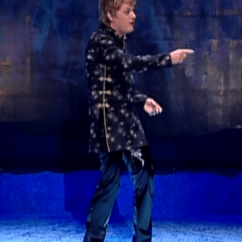 Big Circle Chair Covers Ikea Canada Eddie Izzard's Best Outfit? | Stand Up For