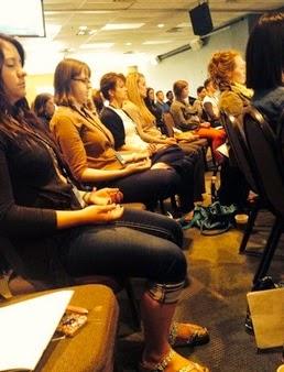 Catalyst Dallas - Centering prayer session