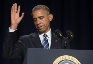 President Obama at National Prayer Breakfast (SAUL LOEB/AFP/Getty Images)