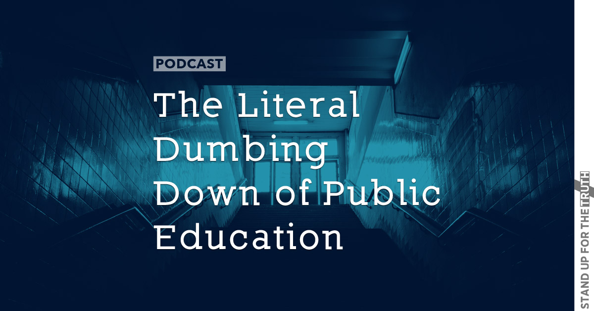 The Literal Dumbing Down of Public Education