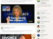 I bery rarely like Judges - Blog - 2015