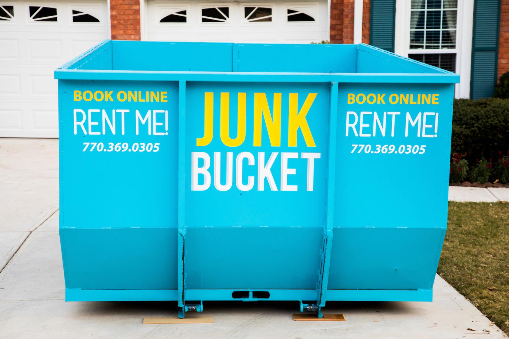 East Cobb Dumpster Rental  Junk Bucket Dumpster Rental