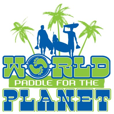 world paddle for the planet logo