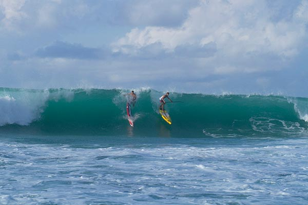 Big Wave wipeout at Standup World Series Finals