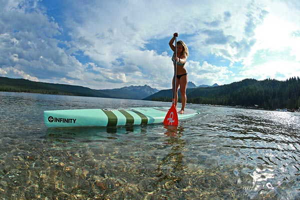 The Woman of Standup Paddling 19